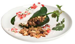 Chiles en Nogada Recipe, Casa Blanca Mexican Restaurant, MA